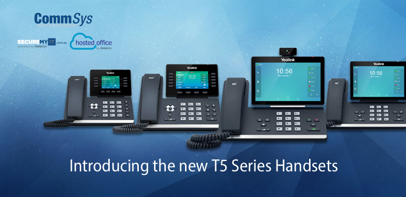 CommSys Introduces the New T5 Series Phones